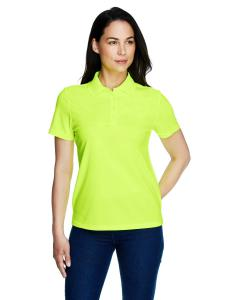 Safety Yellow Ladies' Origin Performance Piqué Polo
