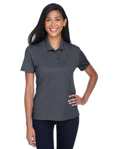 Carbon Ladies' Origin Performance Pique Polo with Pocket