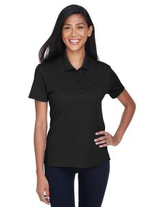 Black Ladies' Origin Performance Pique Polo with Pocket