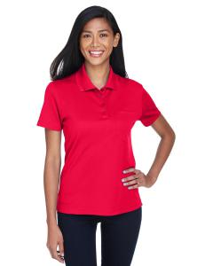 Classic Red Ladies' Origin Performance Pique Polo with Pocket