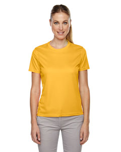 Campus Gold 444 Ladies' Pace Performance Piqué Crew Neck
