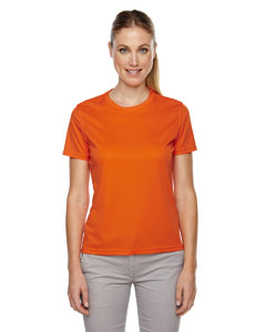 Campus Orng 470 Ladies' Pace Performance Piqué Crew Neck