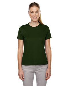 Forest Gren 630 Ladies' Pace Performance Piqué Crew Neck