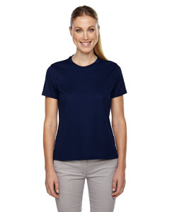 Classic Navy 849 Ladies' Pace Performance Piqué Crew Neck