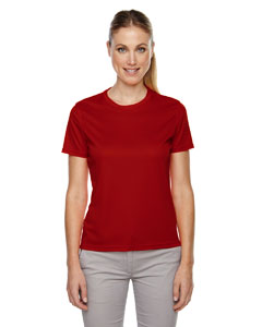 Classic Red 850 Ladies' Pace Performance Piqué Crew Neck