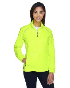 Safety Yellow Ladies' Motivate Unlined Lightweight Jacket