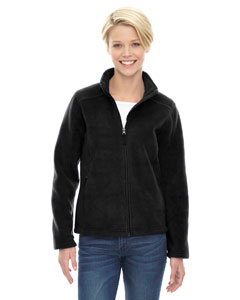 Black 703 Ladies' Journey Fleece Jacket