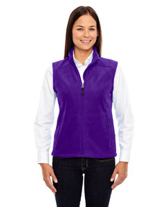 Campus Prple 427 Ladies' Journey Fleece Vest