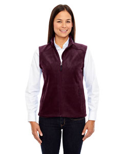 Burgundy 060 Ladies' Journey Fleece Vest