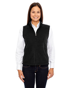 Black 703 Ladies' Journey Fleece Vest