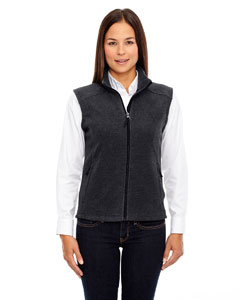 Hthr Chrcl 745 Ladies' Journey Fleece Vest