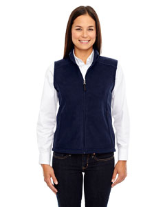 Classic Navy 849 Ladies' Journey Fleece Vest
