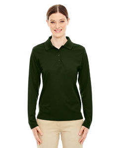 Forest Gren 630 Ladies' Pinnacle Performance Long-Sleeve Piqué Polo