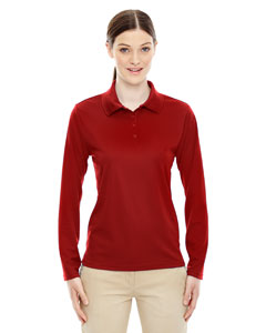 Classic Red 850 Ladies' Pinnacle Performance Long-Sleeve Piqué Polo