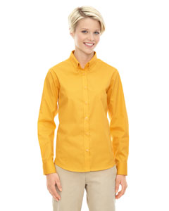 Campus Gold 444 Ladies' Operate Long-Sleeve Twill Shirt