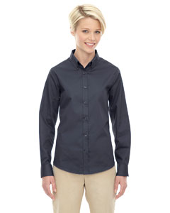 Carbon 456 Ladies' Operate Long-Sleeve Twill Shirt