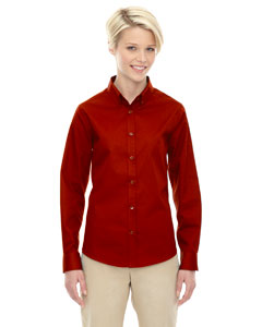 Classic Red 850 Ladies' Operate Long-Sleeve Twill Shirt