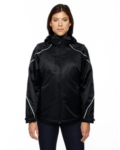 Black 703 Ladies' Angle 3-in-1 Jacket with Bonded Fleece Liner