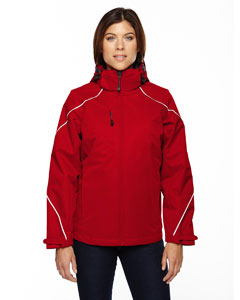 Classic Red 850 Ladies' Angle 3-in-1 Jacket with Bonded Fleece Liner
