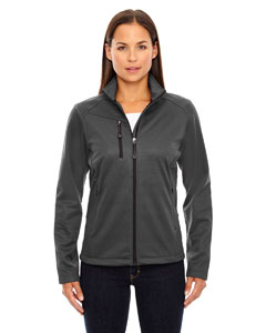 Carbon 456 Ladies' Trace Printed Fleece Jacket