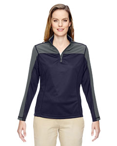 Navy 007 Ladies' Excursion Circuit Performance Half-Zip