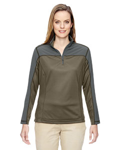 Dk Oakmoss 487 Ladies' Excursion Circuit Performance Half-Zip