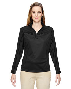 Black 703 Ladies' Excursion Circuit Performance Half-Zip