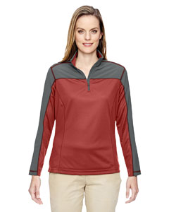 Rust 489 Ladies' Excursion Circuit Performance Half-Zip
