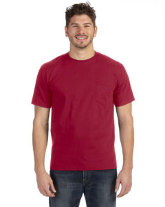 Independence Red Adult Midweight Pocket T-Shirt
