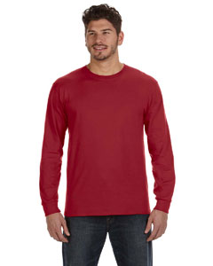 Independence Red Ringspun Heavyweight Long-Sleeve T-Shirt