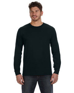 Black Ringspun Heavyweight Long-Sleeve T-Shirt