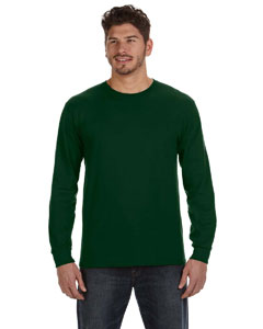 Forest Green Ringspun Heavyweight Long-Sleeve T-Shirt