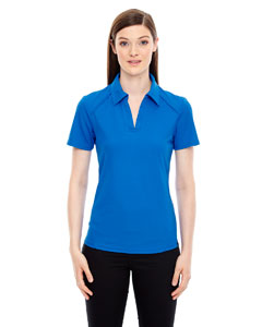 Lt Naut Blu 417 Ladies' Recycled Polyester Performance Piqué Polo