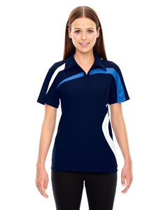 Night 846 Ladies' Impact Performance Polyester Piqué Colorblock PoloPe
