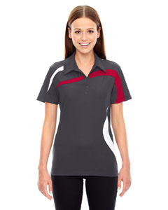 Blksilk 866 Ladies' Impact Performance Polyester Piqué Colorblock PoloPe