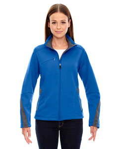 Olympic Blue 447 Ladies' Escape Bonded Fleece Jacket