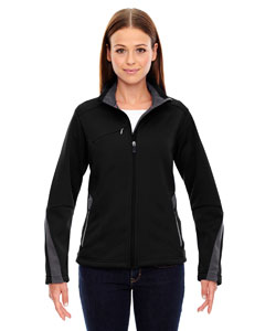 Black 703 Ladies' Escape Bonded Fleece Jacket