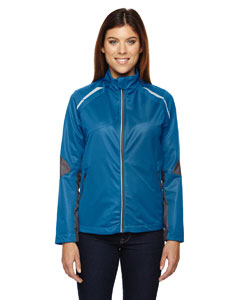Olympic Blue 447 Ladies' Dynamo Three-Layer Lightweight Bonded Performance Hybrid Jacket