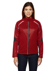 Olympic Red 665 Ladies' Dynamo Three-Layer Lightweight Bonded Performance Hybrid Jacket