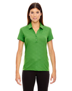 Valley Green 448 Ladies' Maze Performance Stretch Embossed Print Polo
