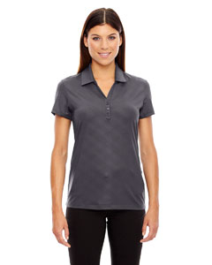 Blksilk 866 Ladies' Maze Performance Stretch Embossed Print Polo