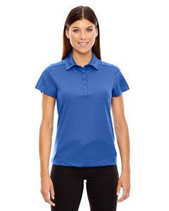 Nauticl Blue 413 Ladies' Symmetry UTK cool.logik™ Coffee Performance Polo