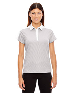 Crystl Qrtz 695 Ladies' Symmetry UTK cool.logik™ Coffee Performance Polo