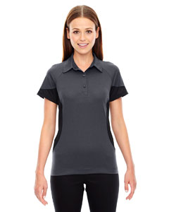 Carbon 456 Ladies' Refresh UTK cool.logik™ Coffee Performance Mélange Jersey Polo