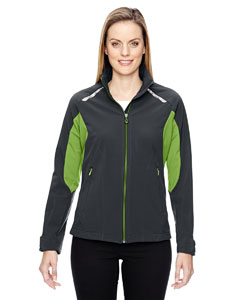 Carbn/acd Gn 472 Ladies' Excursion Soft Shell Jacket with Laser Stitch Accents