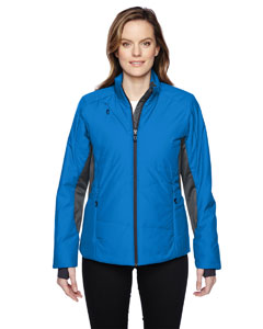 Olympic Blue 447 Ladies' Immerge Insulated Hybrid Jacket with Heat Reflect Technology