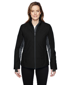 Black 703 Ladies' Immerge Insulated Hybrid Jacket with Heat Reflect Technology