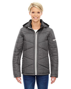 Carbn Heath 452 Ladies' Avant Tech Mélange Insulated Jacket with Heat Reflect Technology