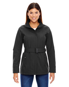 Carbn Heath 452 Ladies' Skyscape Three-Layer Textured Two-Tone Soft Shell Jacket