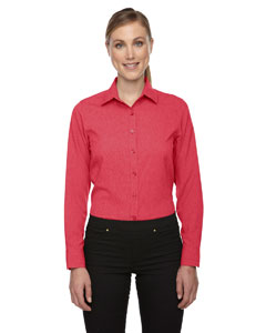 Coral Heath 491 Ladies' Mélange Performance Shirt